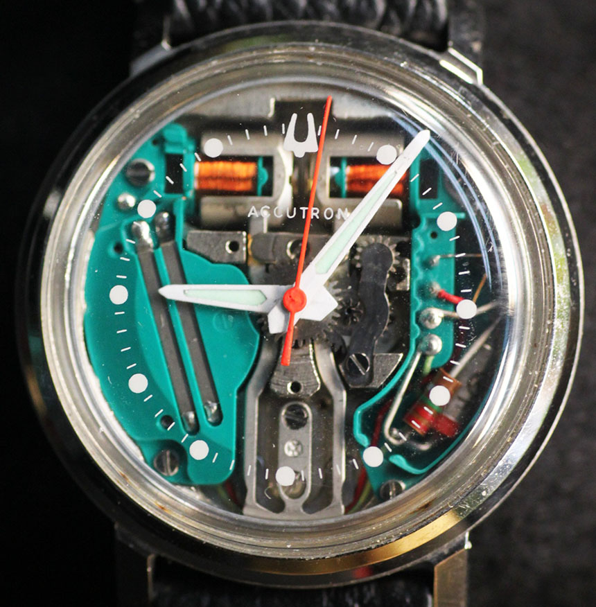 accutron 214 tuning fork movement spaceview
