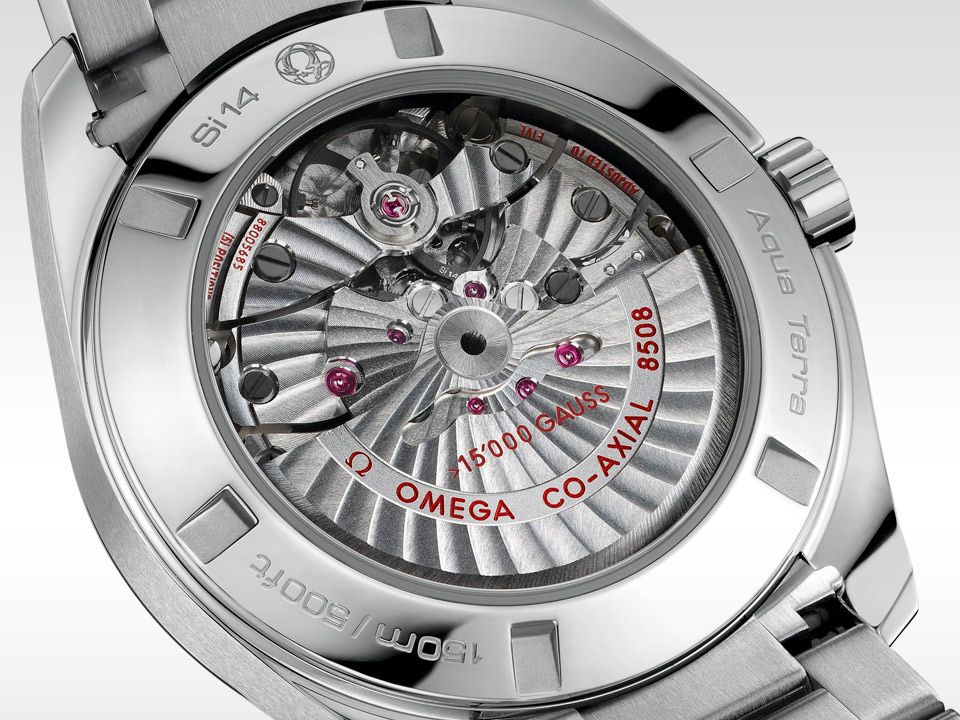 omega master co-axial movement