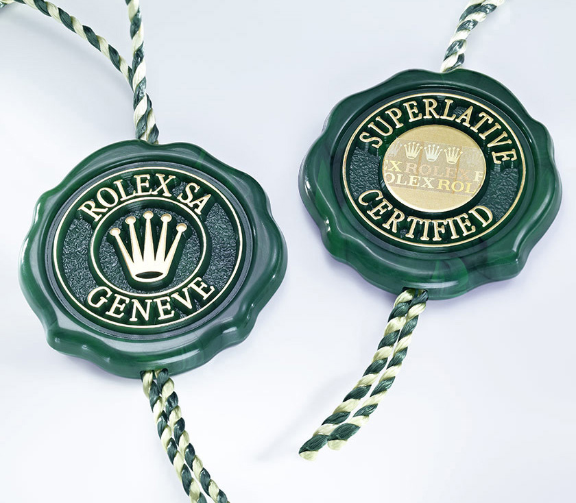 rolex superlative chronometer certification