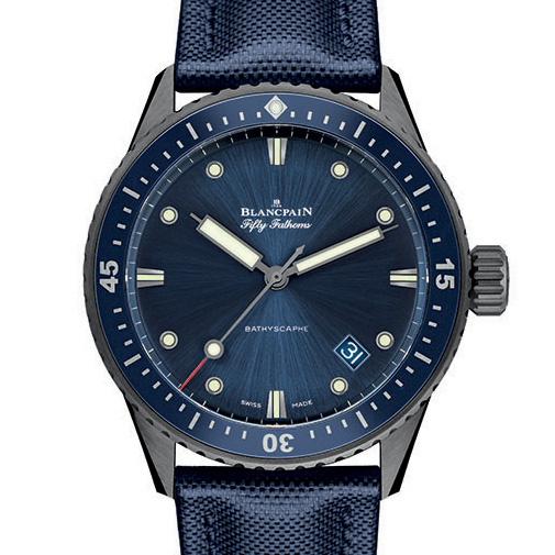 BLANCPAIN Fifty Fathoms Bathyscaphe Ceramic