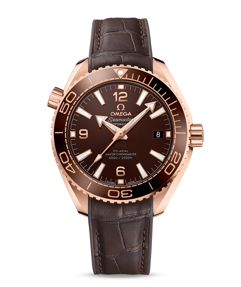 Omega Planet Ocean Chocolate Cera Sedna Rose Gold