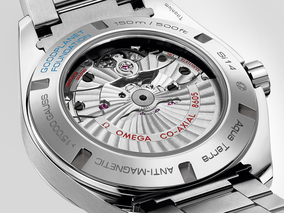 Omega Aqua Terra GoodPlanet Master Co-Axial 8605 movement