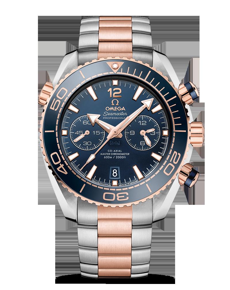 Omega Seamaster Planet Ocean Chronograph Sedna Gold