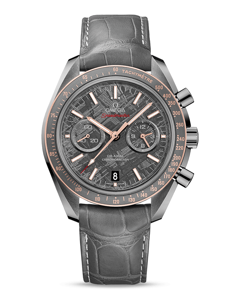 Omega Speedmaster Grey Side of the Moon Gibeon Meteorite