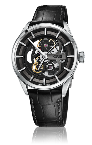 oris artix skeleton watch