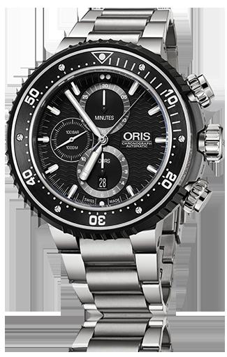 oris prodiver chronograph 1000m
