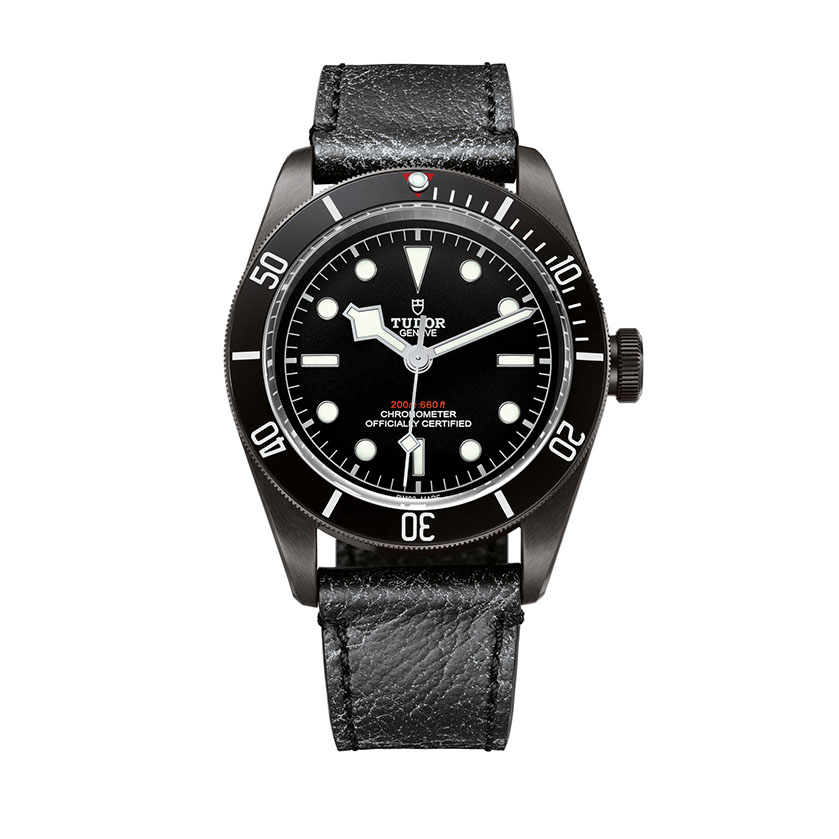 Tudor Black Bay Dark Leather